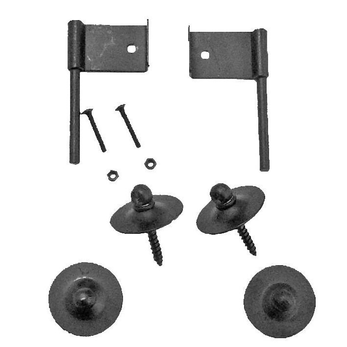 Fireguard Hook Kit - Black