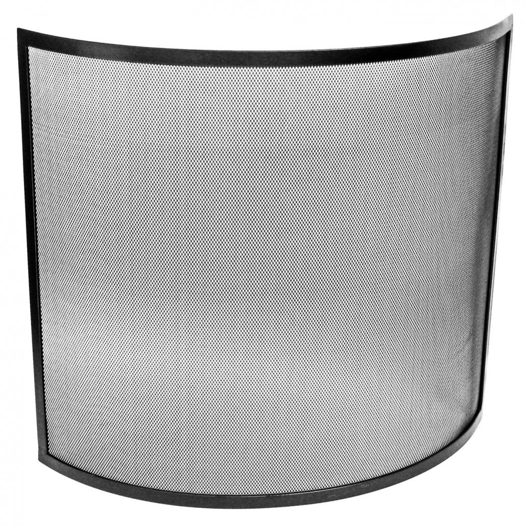 Curved Guard - Black - 61 x 66