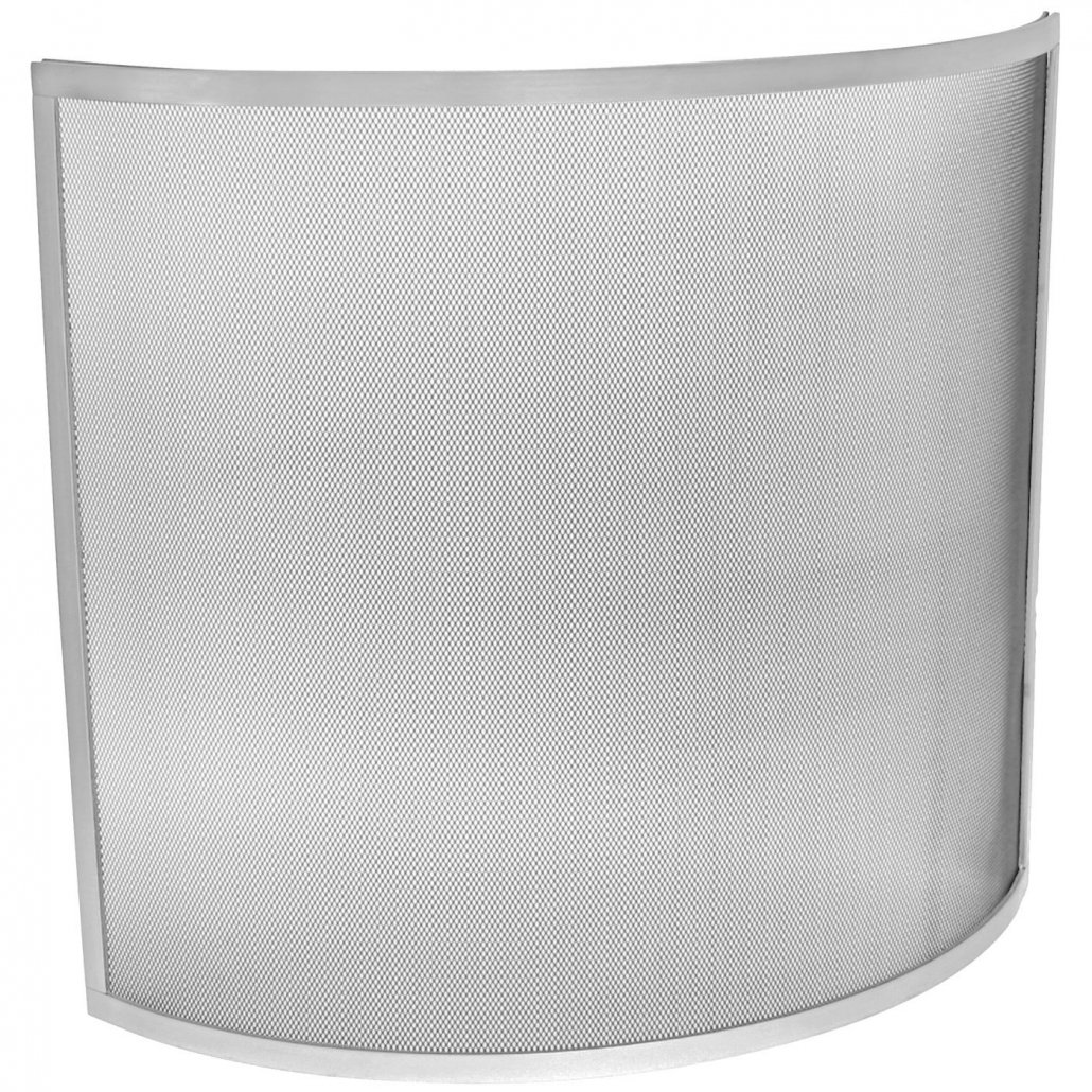 Curved Guard - Silver - 61 x 66