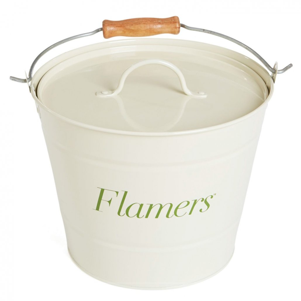 Certainly Wood Flamers Bucket with Lid - 23