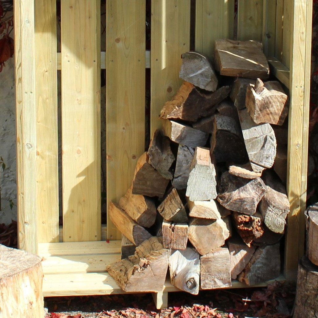 High Hinton Log Store 3ft