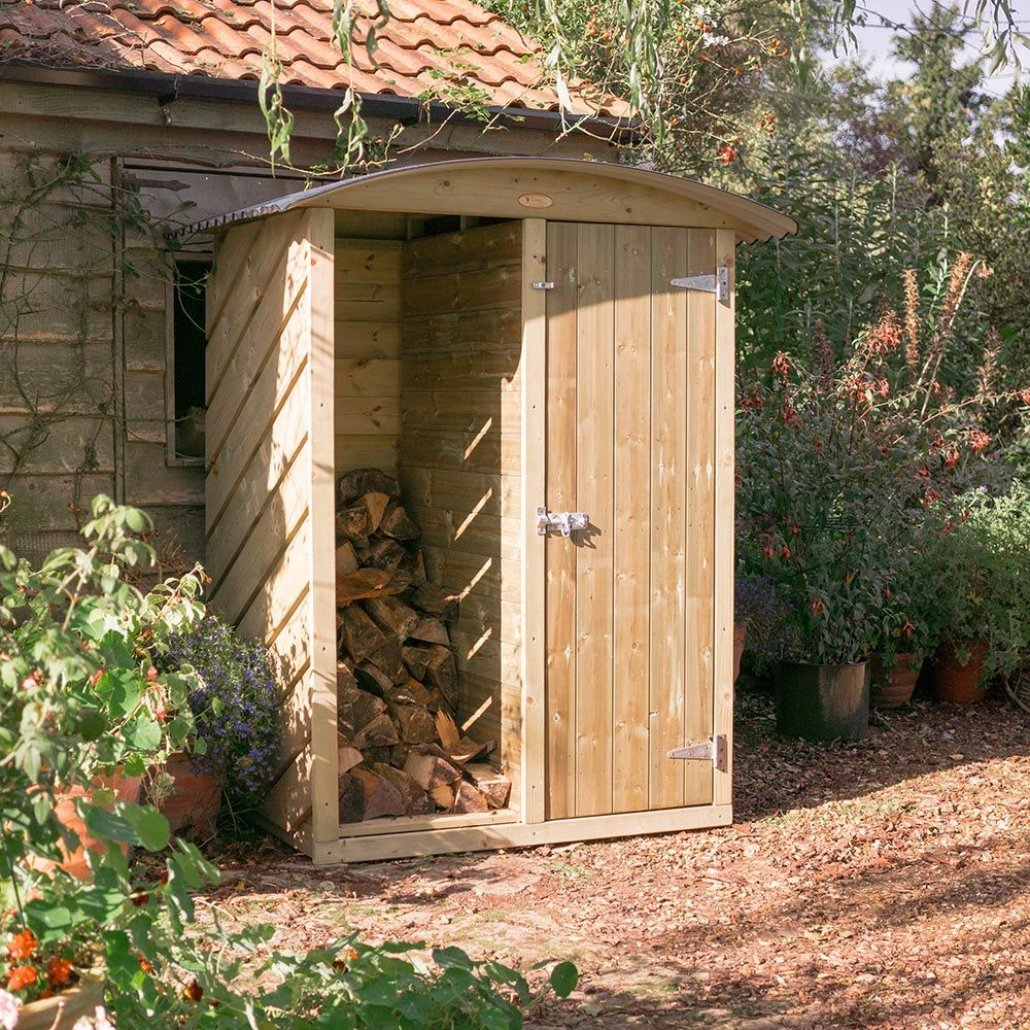 Stronghold Garden and Log Store 4ft
