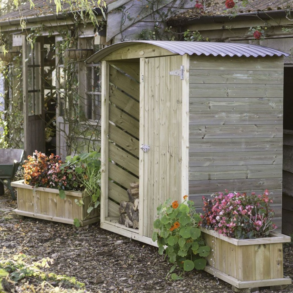 Stronghold Twin Garden and Log Store 6ft