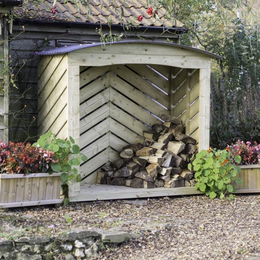 Stronghold Log Store 6ft