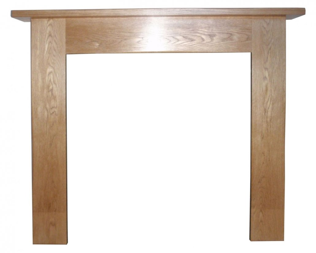 Carcroft Solid Oak Mantel