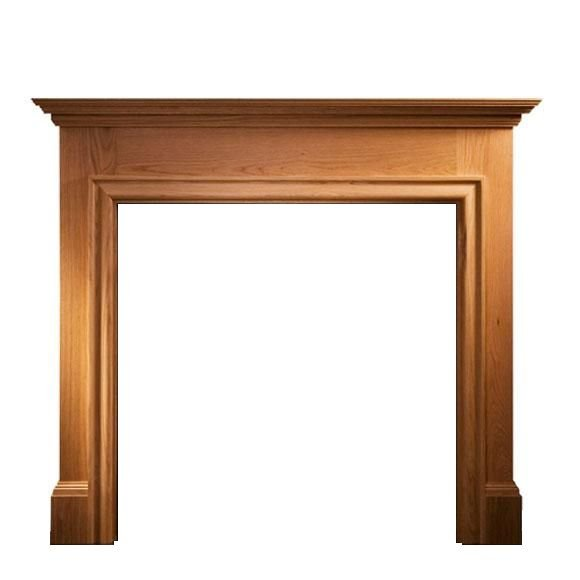 Howard Natural Oak Mantel