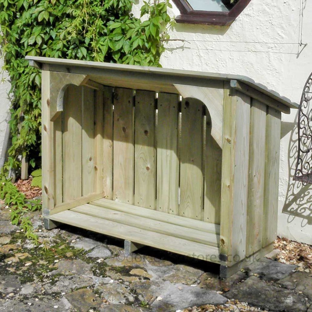 Melbury Log Store 4ft