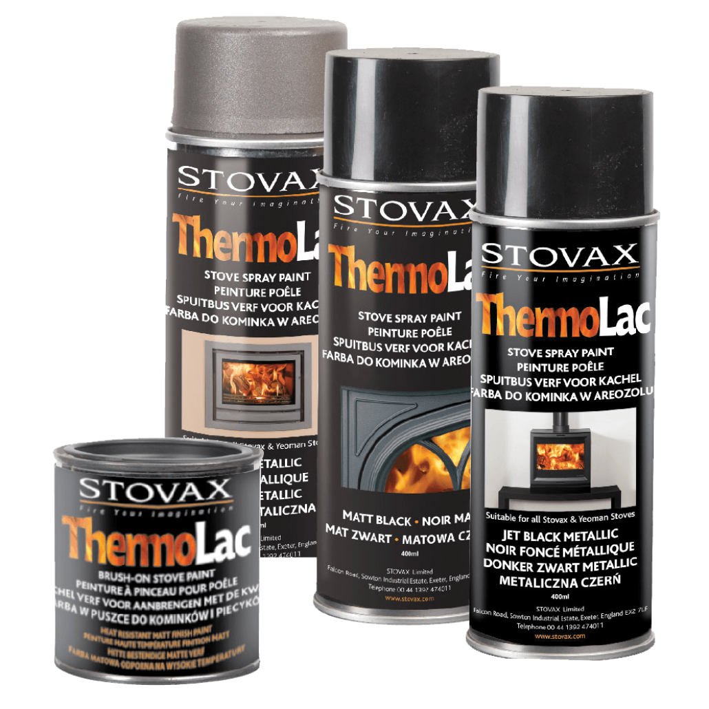 Thermolac Stove Paint Matallic Brown