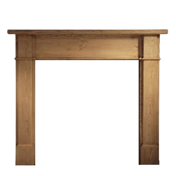 Worcester Pine Waxed Mantel